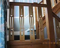 Banister Rail And Spindles Baluster Wikipedia