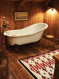 bathroom furniture baths and interior rustic clawfoot tub