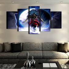 sel 5 piece canvas art dragon ball cuadros decoracion