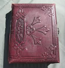 vintage leather photo album lovely antique leather photograph album