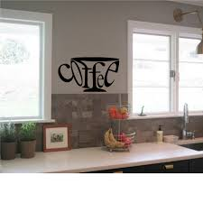 Kitchen Backsplash Decals by Coffee Wall Decal Kitchen Wall Art High Quality Wall Decal