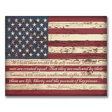 Reclaimed Wood Flag American Flag Wall Art Roselawnlutheran