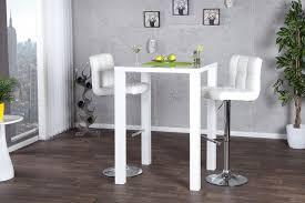 bartisch küche trendiger stehtisch lucente 80cm weiß bartisch bistrotisch riess