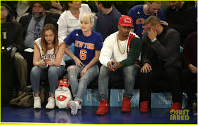 chelsea clinton engagement ring miley cyrus shows off new engagement ring at ny knicks game in nyc