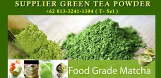 Teh Matcha teh hijau jual bubuk matcha supplier green tea powder green