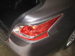 nissan altima tail light cover 2014 nissan altima tail light housing changing brake re flickr