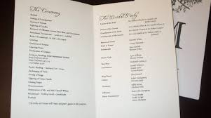 sle wedding programs template wedding reception program template inspiration diy wedding 36591