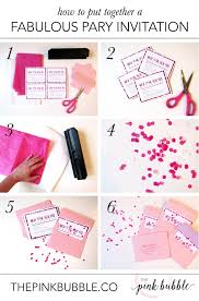 Mary Kay Party Invitation Templates How To Put Together A Fabulous Party Invitation U2014 The Pink Bubble