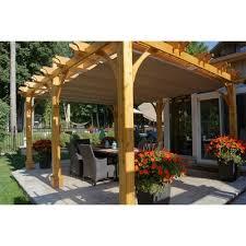 12 X 16 Pergola by Outdoor Living Today Bz1216wrc 12 Ft X 16 Ft Cedar Breeze Pergola