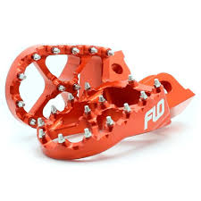 motocross bike parts flo motorsports ktm husqvarna orange footpegs mxstore picks
