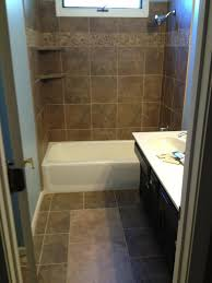 How To Tile A Bathroom Shower Wall Advanced Interiors Photos Tile Advanced Interiors Inc