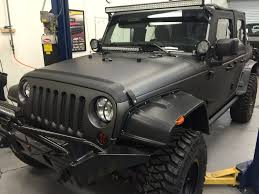 jeep matte red vehicle color change black parrot
