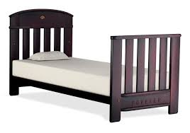 madison forever cot bed walnut boori