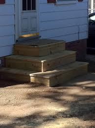 Back Porch Stairs Design Patio Door Steps Handballtunisie Org