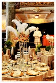 Feather And Flower Centerpieces by How To Create A