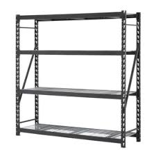 Heavy Duty Garage Shelving by Shop Freestanding Shelving Units At Lowes Com