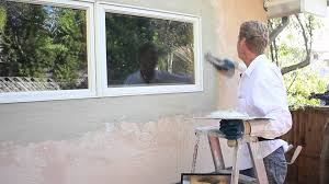 stucco exterior repair patch wall finish youtube home remarkable