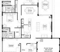 Ranch Home Plans Designs Unique Style House Contemporary Single Home Plans With Open Bat