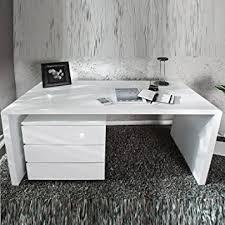 designer schreibtisch wei moderner design schreibtisch helsinki holztisch bürotisch 140 cm