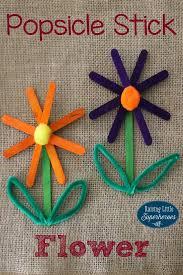 Garden Crafts For Children - best 25 popsicle stick crafts ideas on pinterest popsicle stick