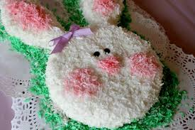 bunny cake perfect for easter or birthday