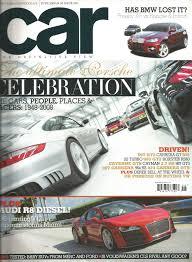 porsche turbo poster car magazine magazines auto car magazine 1989 oct jag f