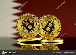 Picture Of Qatar Flag Physical Version Bitcoin Qatar Flag Close U2013 Stock Editorial Photo