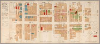 Chicago Fire Map by Maps Of Gilded Age San Francisco Chicago And New York Mapping