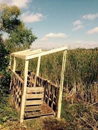 Homemade Goose Blind Old Pallets U003d New Duck Blind Duck Hunting Geese Waterfowl
