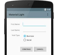material design for android android developers
