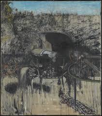 pat e chambre b figure in a landscape francis bacon 1945 tate