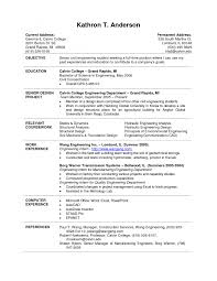 cover letter for student internship cover letter example resume for college students example of resume