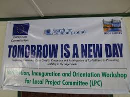 recent projects in nigeria search for common ground