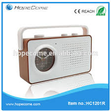 Bathroom Radio Clock Retro Alarm Clock Radio Retro Alarm Clock Radio Suppliers And