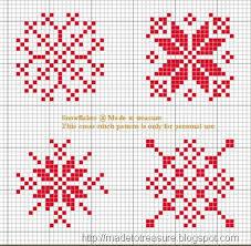 cross stitch snowflakes thumb 3 cross stitch