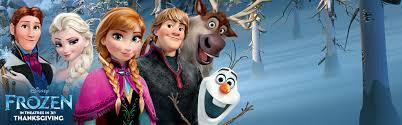 image frozen in theaters in 3d thanksgiving banner jpg disney
