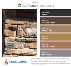 paint color samples natural home design