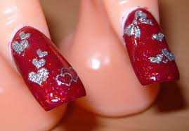 pink and red nail art designs choice image nail art designs