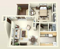 stunning one bedroom apartment plans 1 bathroom terrace small 3