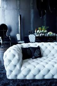 capitonner un canapé cuir blanc capitonné