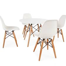 playroom table and chairs children s eames dsw style table chair set white nubie