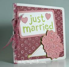 wedding card with the cricut expression machine cards by
