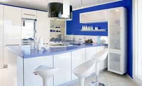 Oak Cabinet Kitchen Ideas Blue And White Country Kitchen Ideas Blue Kitchen Walls With Oak