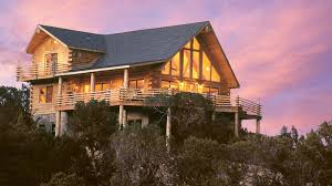 Home Design Plan View Log Home Design Plan And Kits For Mountain View