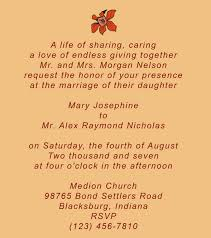 quotes for wedding invitation wedding invitation wording for friends quotes friendship