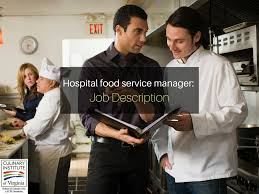 Product Development Manager Job Description Food Service Manager Job Description
