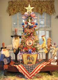 25 best decorated patriotic christmas tree images on pinterest