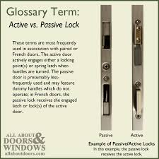 Extra Security Locks For French Doors - multipoint lock glossary of terms