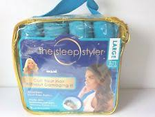 aleeping in petm rods blue hair perm rods ebay