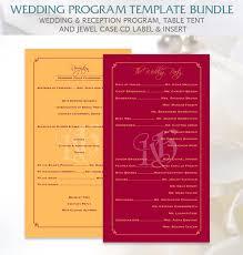template wedding program 20 wedding program templates